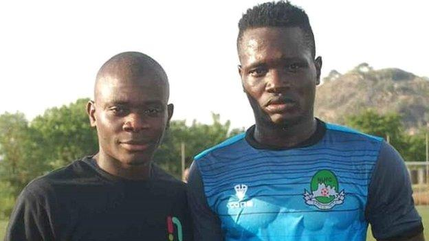 Michael Martins and his late brother Chineme
