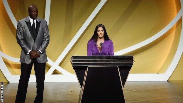 Michael Jordan and Vanessa Bryant