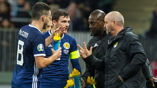 Scotland face Cyprus and Kazakhstan in the remaining two games of the qualifying campaign