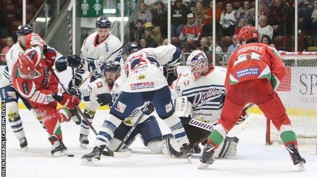 Dundee Stars have lost six in a row now after their latest 3-2 defeat at Cardiff Devils