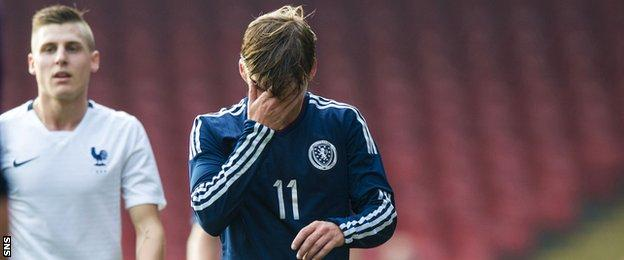 Scotland Under-21 forward Ryan Gauld