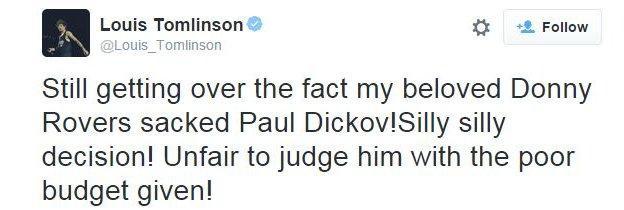 Louis Tomlinson on Twitter