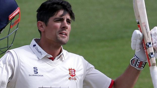 County Championship: Alastair Cook makes 125 for Essex before Kent fight back thumbnail