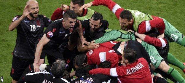 Teams like Albania added colour to Euro 2016 - but the competition works far better with 16 teams
