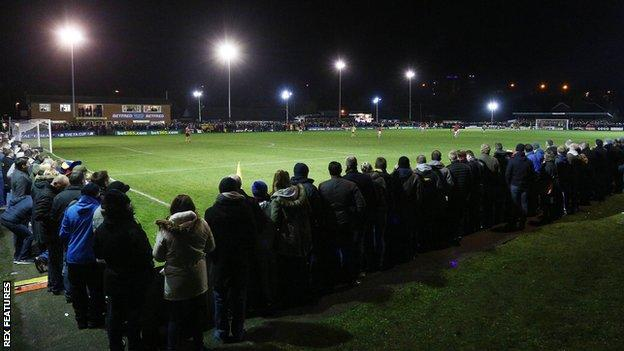 Warrington Town have played at their 2,500-capacity Cantilever Park ground since 1956