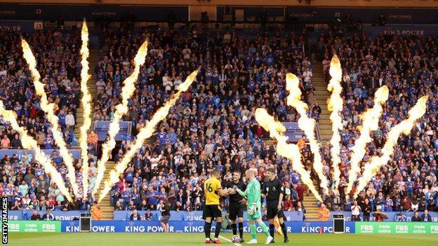 Leicester City, Wolverhampton Wanderers, King Power Stadium, ventiladores