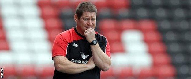 Liverpool boss Matt Beard