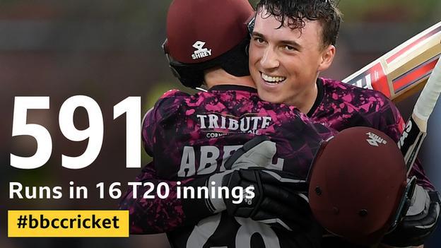 Tom Banton - has scored 591 runs in 16 T20 innings