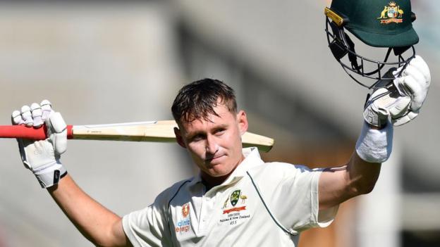 Australia v Pakistan: Marnus Labuschagne hits century, Yasir Shah concedes record Test runs thumbnail