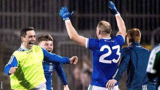 Dermot Molloy hit Naomh Conaill's steadying final point against Castlerahan