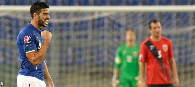 Italy reach Euro 2016