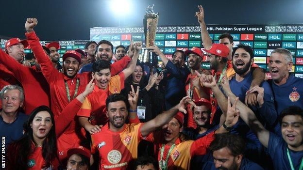Islamabad United celebrations, 2018