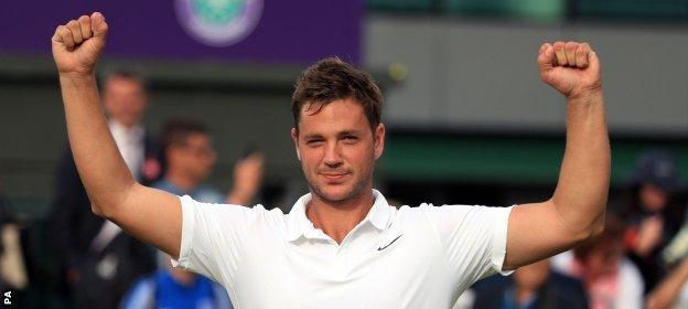 Marcus Willis' match against Roger Federer is scheduled third on Centre Court on Wednesday