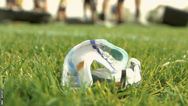 Swansea-based company Sport and Wellbeing Analytics and researchers at Swansea University have been working on the micro-chipped mouth guards for two and a half years