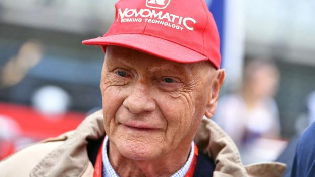 Former Formula One Champion Niki Lauda on 3 July, 2016
