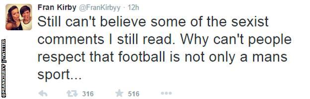 Kirby tweet