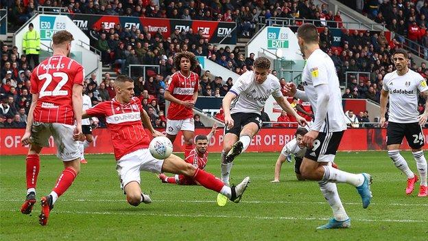 Fulham captain Tom Cairney has now scored eight goals for the Cottagers this season