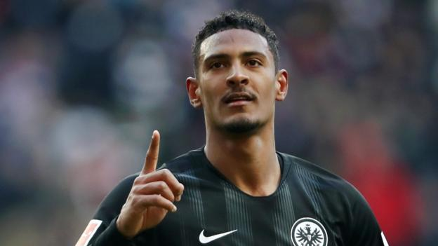 Sebastien Haller: West Ham set to sign Eintracht Frankfurt striker for up to £45m