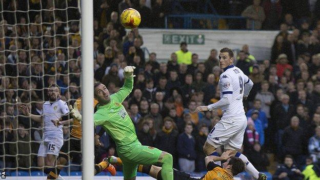 Chris Wood scores against Hull