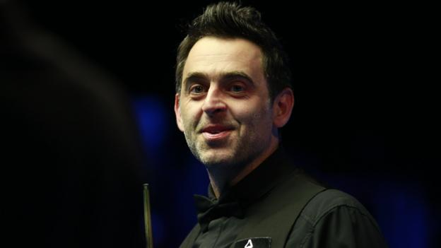 Tour Championship: Ronnie O'Sullivan comes back to beat Judd Trump in thriller thumbnail