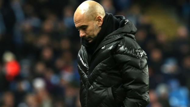 Pep Guardiola: 'Man City might not be able to compete with top teams' thumbnail