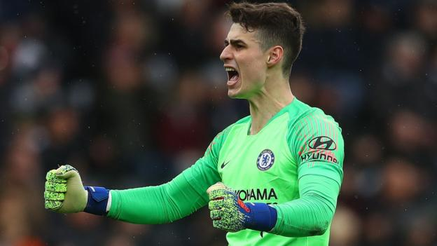 Kepa Arrizabalaga: Chelsea goalkeeper 'understands his mistake', says manager Sarri thumbnail