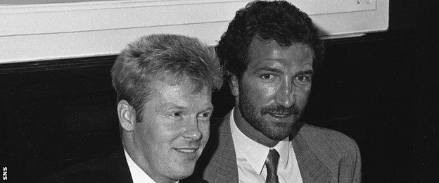Maurice Johnston and Graeme Souness