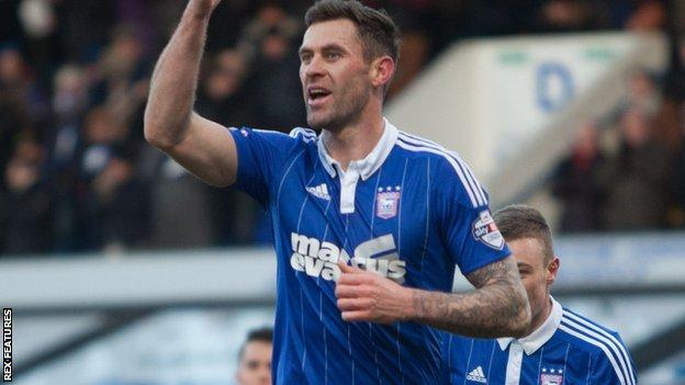 Daryl Murphy levels for Ipswich