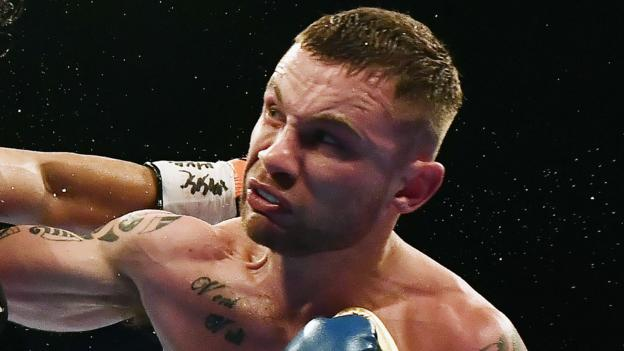 Carl Frampton: 'Freak' hand injury forces Belfast boxer out of