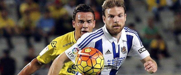 Real Sociedad midfielder Asier Illarramendi