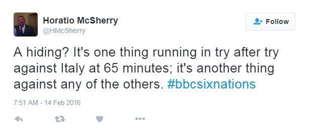McSherry tweet