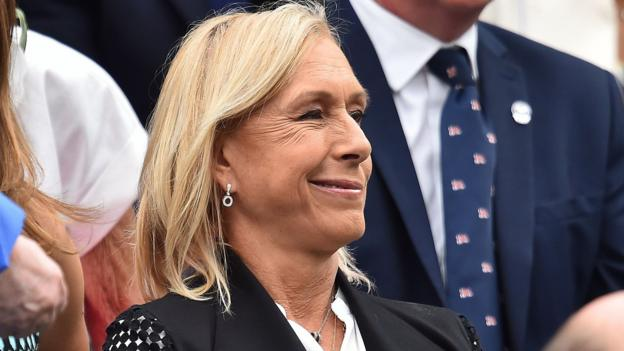 "Martina Navratilova: Tennis legend sorry for transgender ""cheat"" language as she re-enters debate thumbnail"