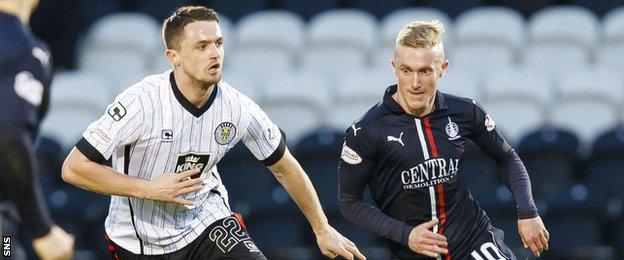 St Mirren captain Stephen McGinn