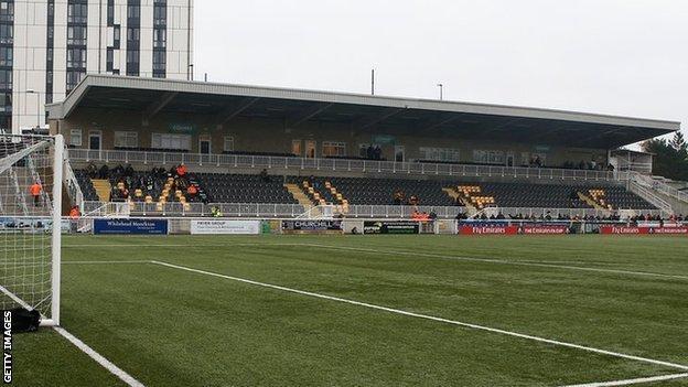 Maidstone United's Gallagher Stadium.