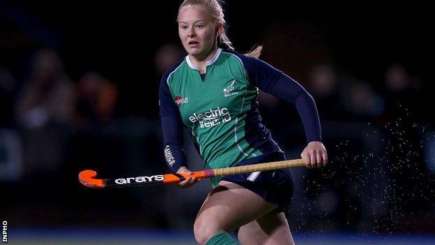 Chloe Brown scored Ireland's opener against the Czech Republic