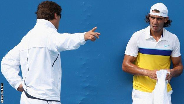Toni and Rafa Nadal