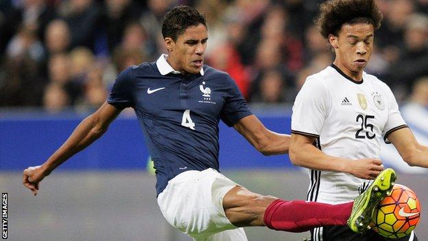 France's Raphael Varane ruled out of Euro 2016