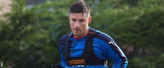 Rangers striker Michael O'Halloran