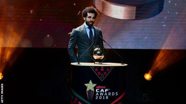 Liverpool and Egypt's Mohamed Salah