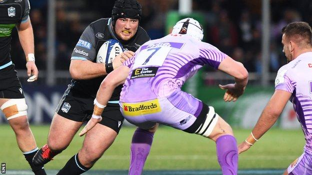 Zander Fagerson returns for Glasgow at tight-head prop