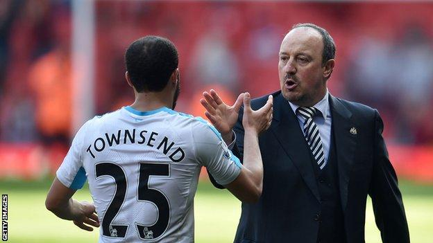 Andros Townsend and Rafael Benitez
