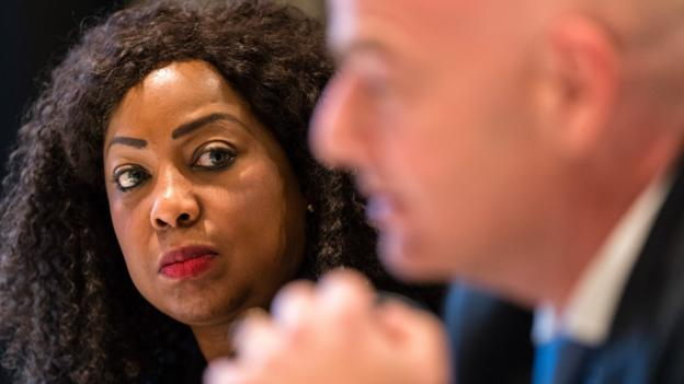 Fatma Samoura: Fifa executive cleared by ethics team - BBC Sport
