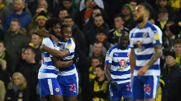 Norwich City 2-2 Reading: Royals strike late to seal draw at Carrow Road thumbnail