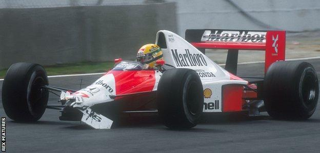 Ayrton Senna, Interlagos, 1990