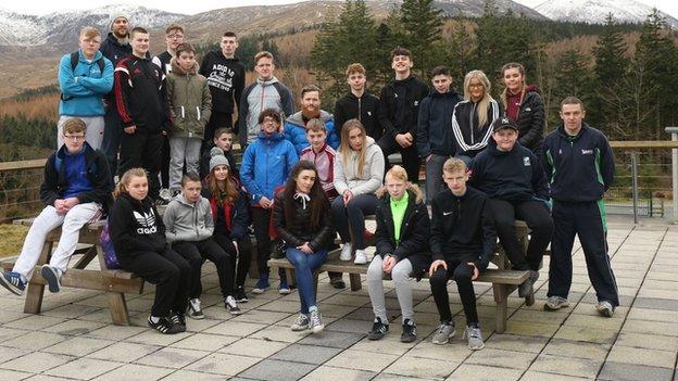 Active Academy teenagers