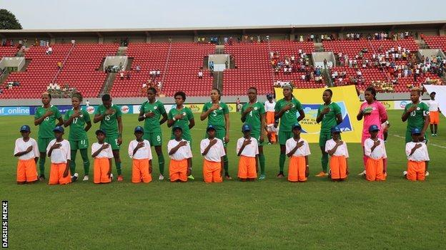African women's champions Nigeria