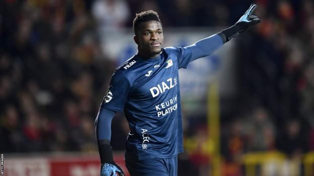Cameroon goalkeeper Fabrice Ondoa