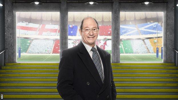 BBC commentator Ian Robertson