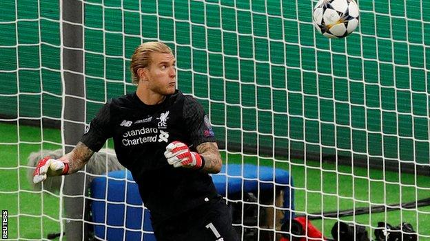 Karius is now back at pre-season training as Liverpool prepare for the 2018-19 campaign