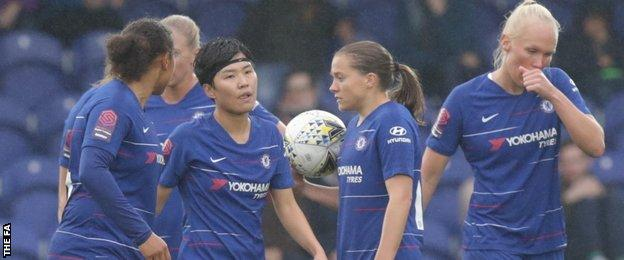 Chelsea reflect on defeat